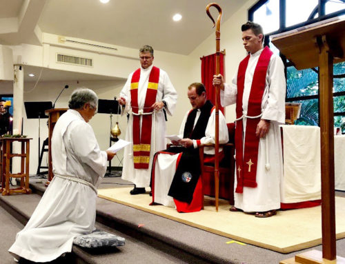 Ordination of David Chung – Kailua, Hawaii